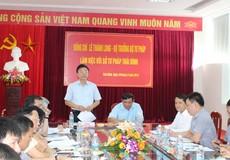 Bộ trưởng Lê Thành Long bắt đầu chuyến công tác tại các tỉnh Đồng bằng Bắc Bộ