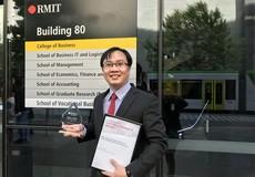 Tiến sĩ trẻ ngành Tư pháp được vinh danh tại Australia