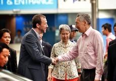 Thủ tướng Singapore Lý Hiển Long và Phu nhân đã ghé thăm toà nhà Bitexco Financial Tower