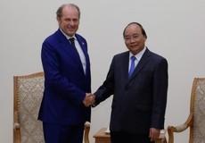 Thủ tướng Nguyễn Xuân Phúc tiếp Tổng Giám đốc Tập đoàn Generali