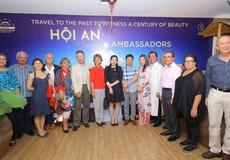 """Lần đầu tiên Hội An chào đón Đoàn 12 Đại sứ Quốc tế đến thưởng ngoạn thực cảnh """"Ký ức Hội An"""""""
