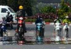 Hà Nội nóng hơn 40 độ C, người thành phố check-in đỉnh Fansipan