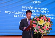 Kết thúc tốt đẹp Hội nghị Tư pháp các tỉnh có chung đường biên giới Việt Nam - Lào mở rộng lần thứ tư