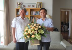 Bộ trưởng Tư pháp Lê Thành Long thăm hỏi và tri ân các thế hệ lãnh đạo