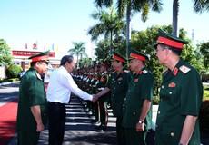 Phó Thủ tướng Trương Hoà Bình yêu cầu Quân khu 5 tăng cường các biện pháp phòng thủ