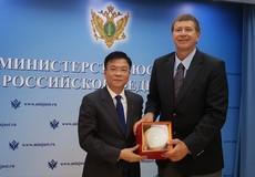 Tiếp tục đẩy mạnh hợp tác pháp luật và tư pháp Việt Nam - Liên bang Nga, góp phần làm sâu sắc hơn quan hệ đối tác chiến lược toàn diện Việt - Nga