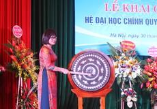 Hôm nay (30/9), Đại học Luật Hà Nội khai giảng năm học mới