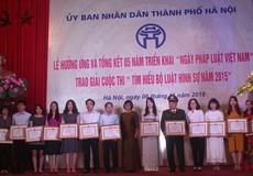 Hà Nội long trọng tổ chức Lễ hưởng ứng Ngày Pháp luật Việt Nam