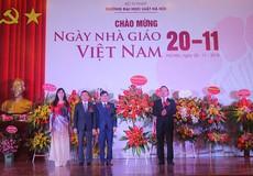 Đại học Luật Hà Nội kỷ niệm 36 năm Ngày Nhà giáo Việt Nam 20/11