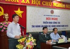 """Bộ trưởng Lê Thành Long: Thi hành án tiếp tục phát huy """"kỷ cương, liêm chính, hành động, sáng tạo"""""""