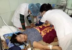 Phòng GD-ĐT huyện Quảng Ninh đã đến thăm hỏi cô giáo Thuỷ bị choáng ngất