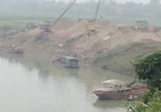Nghệ An:  Nhiều bến cát hoạt động không phép, yêu cầu điểm chủ tịch xã