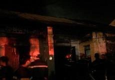 Đầu tháng cháy rụi tài sản khu tập thể cũ