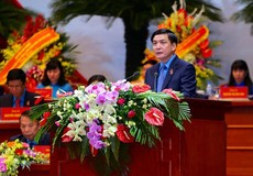 Ông Bùi Văn Cường tái đắc cử Chủ tịch Tổng LĐLĐVN khóa XII