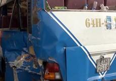 Bị ô tô khách bị tông từ phía sau, 3 người tử vong