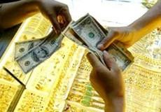 Giá vàng trong nước thụt giảm theo đà thế giới