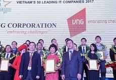 Tôn vinh 50 doanh nghiệp công nghệ thông tin hàng đầu Việt Nam 2017