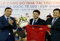 VNPT tài trợ Giải bóng đá Quốc tế U23 – Cúp VinaPhone 2018
