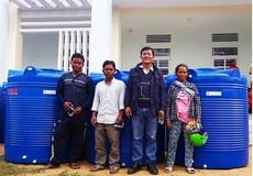 650 bồn nước được trao tặng cho người dân Ninh Thuận