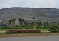 Báo động núi chất thải độc hại từ Nhà máy DAP Đình Vũ