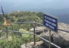 Du khách rơi xuống vực sâu tại chùa Yên Tử