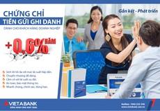 VietABank ra mắt Chứng chỉ tiền gửi dành cho khách hàng doanh nghiệp