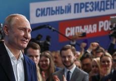 Ông Putin phát biểu gì khi biết tin thắng cử?