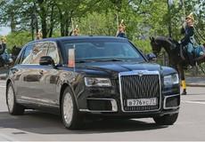 Tổng thống Nga Putin sử dụng xe ô tô nội địa trong lễ nhậm chức