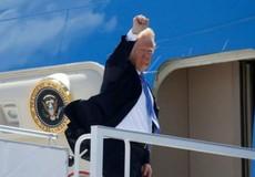 Tổng thống Mỹ cũng đã đến Singapore