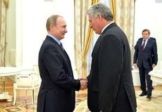 """Nga gọi tin mở lại căn cứ quân sự tại Cuba là """"sự tưởng tượng"""""""