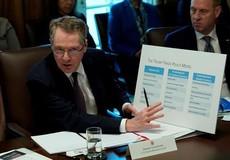 Đại diện Mỹ dội gáo nước lạnh vào triển vọng đàm phán thương mại với Trung Quốc