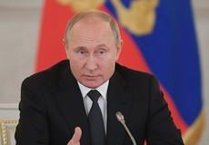 Tổng thống Nga Putin chuẩn bị họp báo lớn