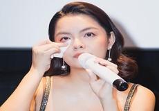 Phạm Quỳnh Anh nức nở: Tôi đã tin quá nhiều để giờ đớn đau