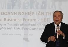 Diễn đàn Doanh nghiệp Hà Nội lần thứ IV: 'Gỡ khó' bằng cải cách hành chính