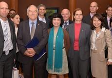 Bộ trưởng Nông nghiệp Israel làm việc với Tập đoàn TH