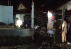 Sập tường nhà kho cây xăng, 3 người bị thương