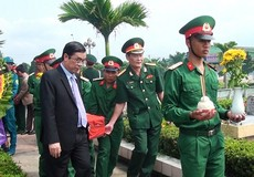 An táng 21 liệt sỹ hy sinh tại chiến trường Quảng Trị