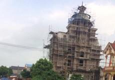 """Hà Nội: Ai bảo kê cho giám đốc Công ty Hưng Tín xây dựng biệt thự """"khủng"""" vi phạm trong hành lang bảo vệ đê?"""