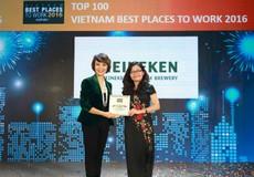 Heineken Việt Nam được vinh danh trong Top 10 nơi làm việc tốt nhất Việt Nam