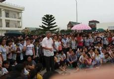 Gần 6.000 công nhân công ty TNHH S&H Vina Thạch Thành đình công