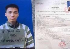 Tội phạm giết người trốn khỏi trại giam