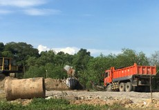 Đồng Nai: Ngang nhiên lập bãi cát trái phép để thu gom cát lậu?