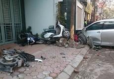 Nữ tài xế phóng ô tô đâm xe máy cướp 2 mạng người