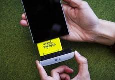 LG G6 trang bị pin rời để đảm bảo an toàn