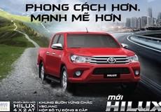 Toyota Việt Nam giới thiệu Hilux phiên bản cải tiến 2017