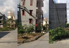 Hải Dương: Dân khu đô thị mới phải tự trồng cột tre kéo điện về nhà