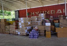 Lượng ma túy 'khủng' trong lô hàng quá cảnh cửa khẩu Xa Mát