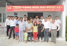 Vedan Việt Nam trao tặng 3 căn nhà đại đoàn kết cho hộ nghèo ở Đồng Nai