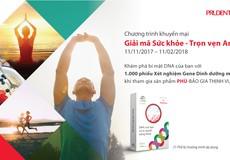 Prudential giới thiệu Dự án chăm sóc sức khỏe bằng DNA cá nhân lần đầu tiên tại Việt Nam