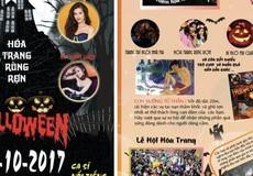 Đông Nhi tham gia Lễ hội Halloween 2017 cùng hàng nghìn sinh viên Hà Nội